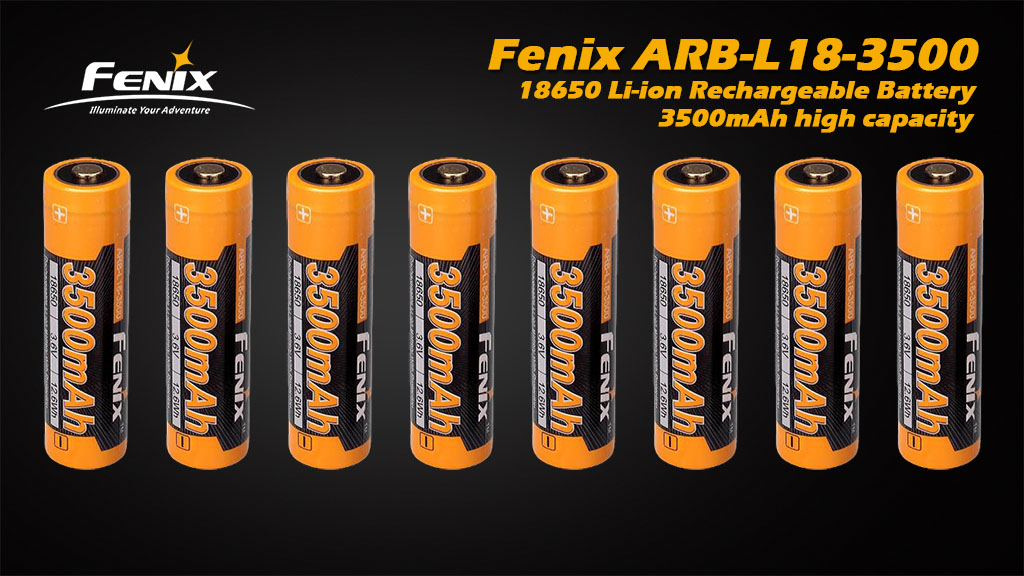 ARB-L18-3500 18650 Li-ion Rechargeable Battery