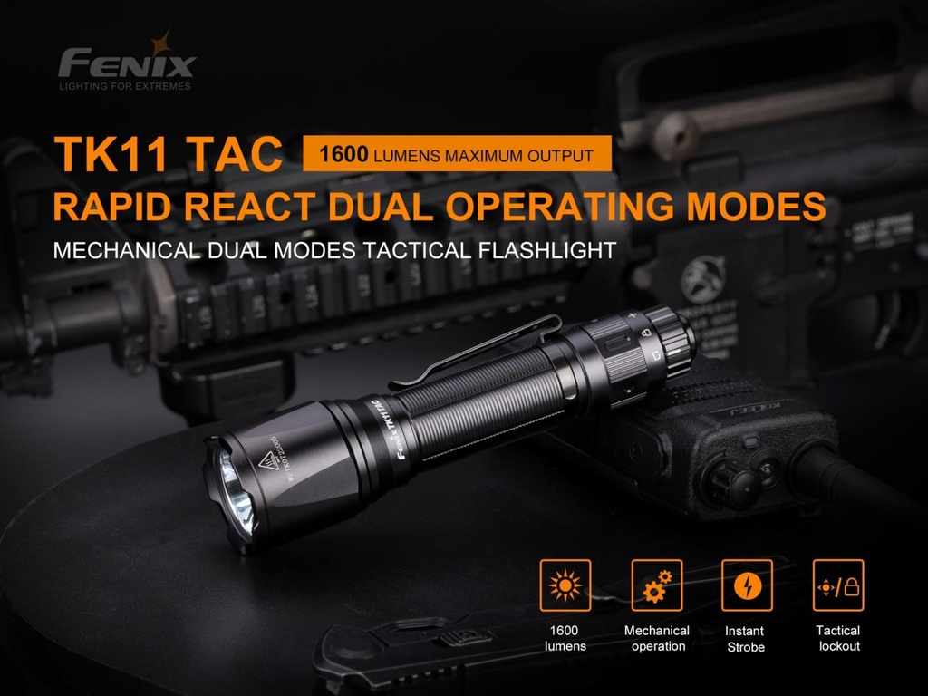 TK11TAC Tactical Flashlight